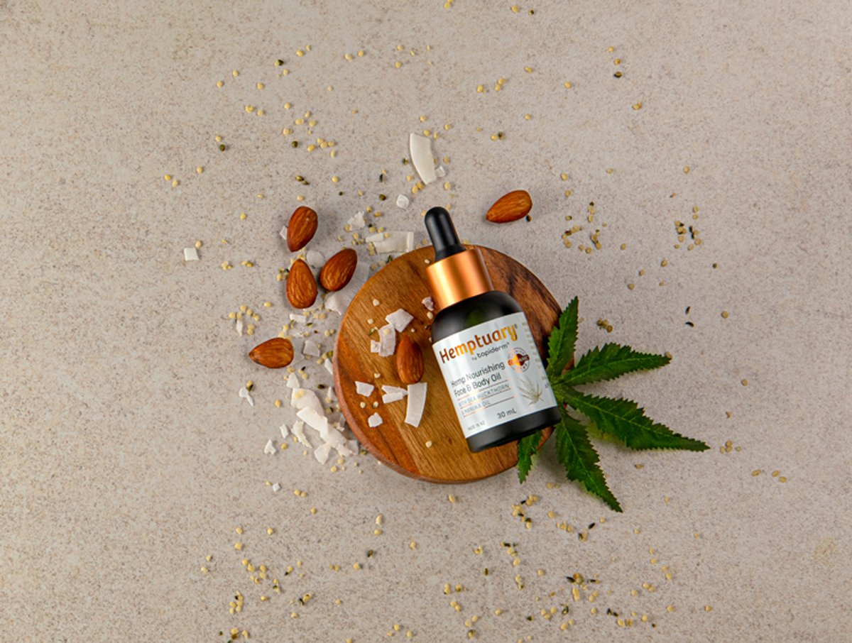 Hemptuary hemp face and body oil